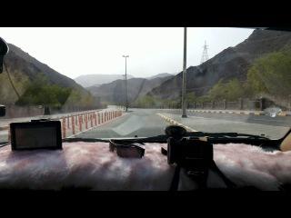 ОАЭ.Побережье Индийского океана.граница с Оманом