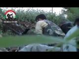Война в Сирии, 2013 г. Снайпер снял двух боевиков одним выстрелом