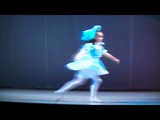 вариация куклы из балета -Фея кукол- исп. Наталья Чезганова
