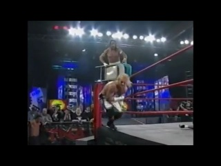 TNA - CM Punk and Julio Dinero vs Raven and Sabu
