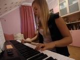 Безумно красивая игра на пианино. Музыка из кф Матрица
