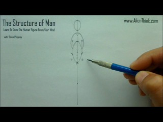 The Structure of Man learn to draw the human figure from your mind with Riven Phoenix 1