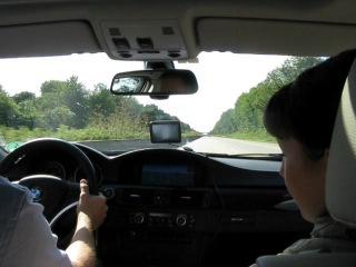 Очень спешим домой или уважение на дорогах Германии