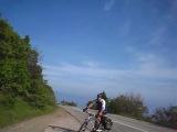 Интересное видео снятое у дороги в Крыму на 20 километре шоссе Алушта - Феодосия.