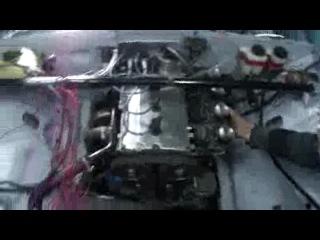 Ваз 2101 с двигателем от ва 2112 16V