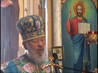 Освячення Блаженнішим митрополитом Володимиром оновленого кафедрального собору в місті Мукачево, Росвигово (2010)