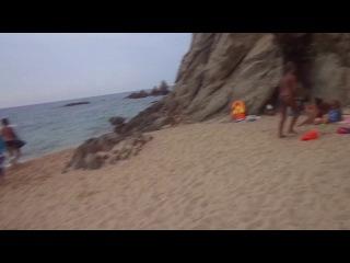 Испания. Ллорет дэ Мар. Дикий пляж