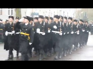 День морской пехоты, балтийск 2012