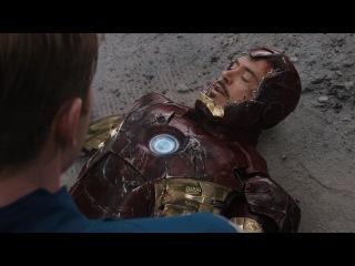 Мстители едят шаурму Сцена 1 и Сцена 2; Тони Старк все-таки сводил всех туда