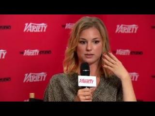 The Variety Emmy Studio Lead drama actress panel: Emily VanCamp