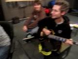 начало рэпкора - запись на студии
