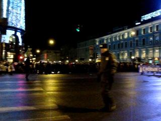 Новогоднее шествие по Невскому Проспекту