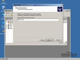 Настройка домена и сетевых служб (Active directory,DHCP,DNS,WINS)