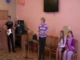Всё тот же ансамбль=)))В детском доме Солнышко!