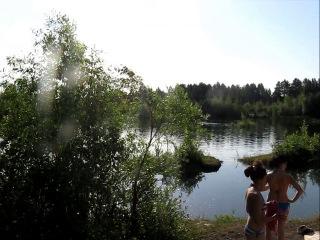 Бабашкина дача 2013. Саксофон и купание в 6 утра