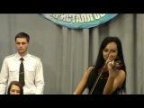 Маргарита Лапинская на скрипке (Концерт для военных)