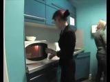 Говорящая микроволновка_прикол на офисной кухне_)))