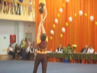 спортивная акробатика Томск 2012 Анатолий и Даша