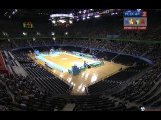 Универсиада 2011. Баскетбол. Групповой этап. Россия - Украина (мужчины) (17.08.2011)