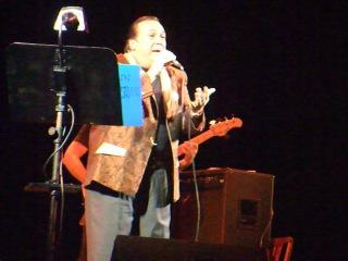 Робертино Лоретти. На концерте в СПб, 2011.