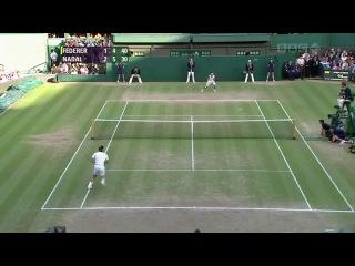 Roger Federer - Rafael Nadal (Wimbledon 2008 Final, highlights)