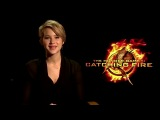 Дженнифер Лоуренс приглашает смотреть фильм «Голодные игры: И вспыхнет пламя»