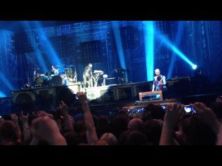 Rammstein - Флаке в лодке (Москва, 10.02.2012)