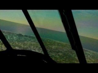 Тренажер Ми - 171 Аэропртг г. Адлер пилотирую Я)) Полет по кругу
