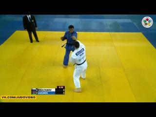 2013 Judo Grand-Prix Samsun (-100kg Final) Adlan BISULTANOV (RUS) - Elmar GASIMOV (AZE)