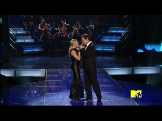 LeAnn Rimes, Chris Isaak, Forrest Whitaker - The Lonely Island Medley (MTV Movie Awards 31.05.2009) HD-1080i