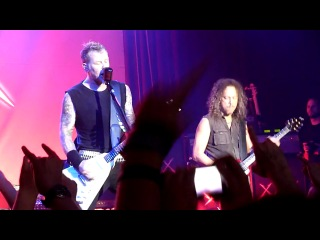 Metallica w- Hugh Tanner - Motorbreath (San Francisco, 09.12.2011)