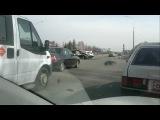 на пересечении пр.Мира и пр.Автозаводский столкнулись автомобиль группы быстрого реагирования и ваз 2114 и тойота