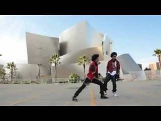 LES TWINS - Larry Bourgeois and Laurent