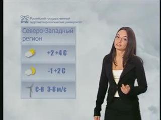 Выпускница Мария Ющенкова - корреспондент канала Санкт-Петербург и ведущая прогноза погоды