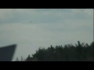 Ту154 жёсткий полёт и посадка - Чкаловский 29-04-11