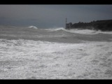 шторм в Гурзуфе