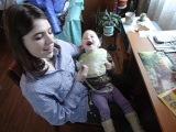 Чомусь моєму малюку смішно))))))))))))