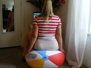Beach ball bust 1