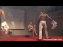 Стриптиз шоу 18+ - Пак 14, видео 52 ( Two male strippers dancing dirty on the stage )