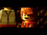 Harry Potter and The Deathly Hallows Part 2 trailer in Lego