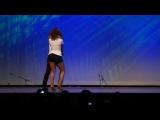 Очень чувсвенный танец! Сальса - бачата. Ataca Jorgie (Jorge Burgos) y La Alemana (Tanja Kensinger)