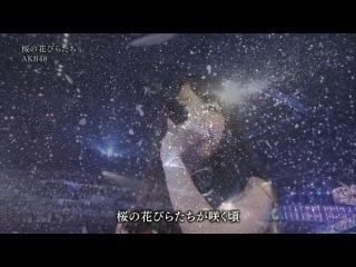 AKB48 x SKE48 - Sakura no Hanabiratachi (Shinsai Kara Ichinen Ashita he Concert 2012.03.10)