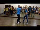 Renato Veronezi & Barbara Pacheco - Zouk Lesson step-by-step