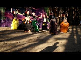 Новосибирский Трайбл Дом на Фестивале транс-музыки и йоги