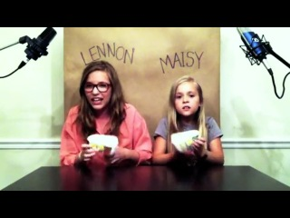 Lennon and Maisy – Call Your Girlfriend cover