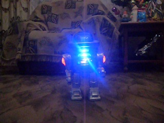 Стреляющий робот О_о