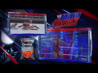 WWE Main Event 14 08 2013 2 часть Русская версия от Justice TV Павел Мнеян Сергей Комаров