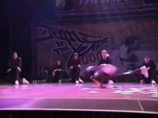 BOTY 2000 FLYING STEPS SHOW (GREAT BREAKDANCE EVENT)