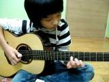 Мелодия из Пиратов Кар.Моря на гитаре!