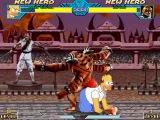 Tall Paul Mugen #40 Homer vs OmegaPsycho's MKII Bosses (Kintaro)